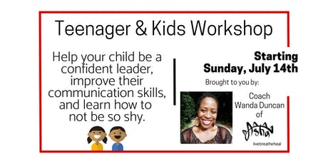 Discounted-Penang Teenager & Kids Workshop (RM124 per pax) Ages 11-18 tickets