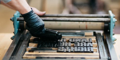 The Art of Letterpress with Tom Boulton tickets