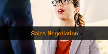 REDUCED PRICE Sales Training London: Sales Negotiation tickets