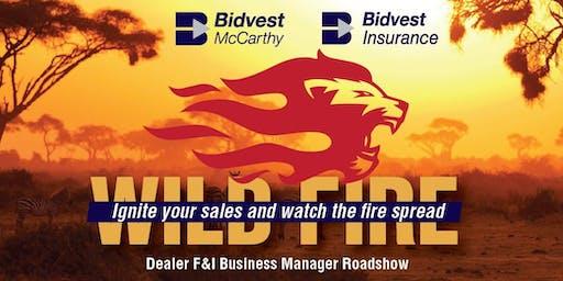 Bidvest McCarthy: Wild Fire F&I Roadshow (Durban)