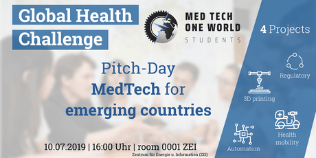 Pitch-Day MedTech One World Students Tickets