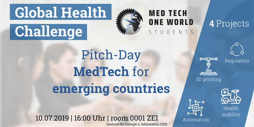 Pitch-Day MedTech One World Students