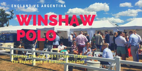 Winshaw Polo 2019 tickets