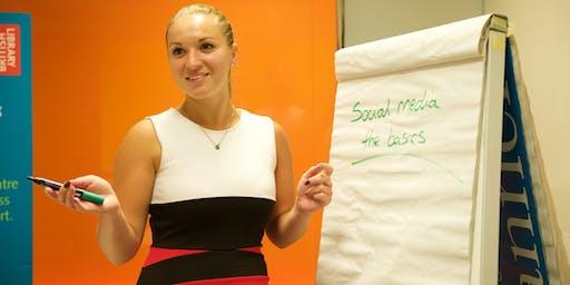How do I start using social media for business?