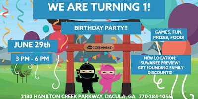 1 year anniversary party & Suwanee preview!