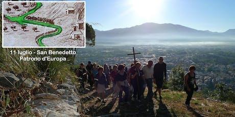 Salita a Monte sul Sentiero Storico per San Benedetto Patrono d'Europa biglietti