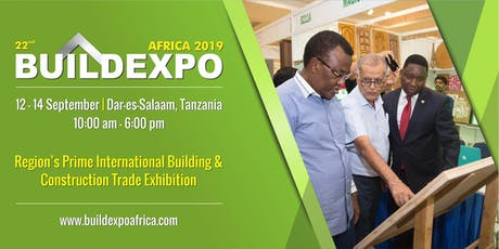 22nd Buildexpo Tanzania 2019 tickets
