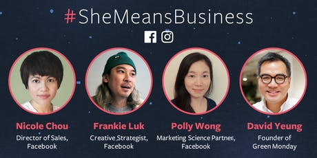 Facebook #SheMeansBusiness Workshop: Pitch, Play Plunge tickets