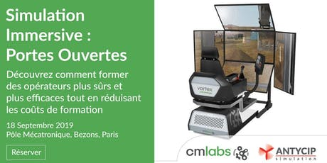 Portes Ouvertes de la Simulation Immersive tickets