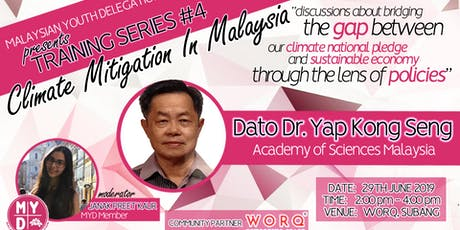 Training Series 4: Climate Mitigation in Malaysia tickets