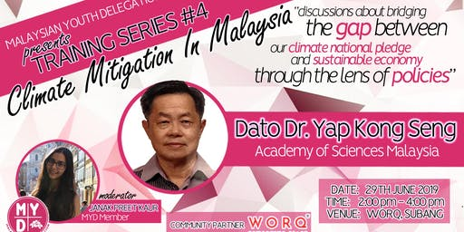 Training Series 4: Climate Mitigation in Malaysia