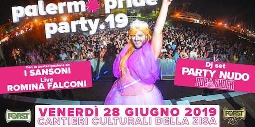 Palermo Pride Party 2019 - La Festa della Parata