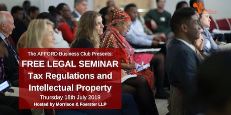 ABC Legal Seminar: Tax and Intellectual Property tickets