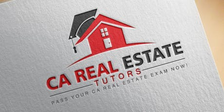 CA Real Estate Tutors tickets