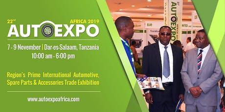 22st Autoexpo Tanzania 2019 tickets