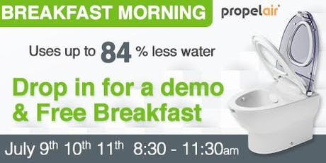 Propelair Breakfast Mornings at SaveMoneyCutCarbon  tickets