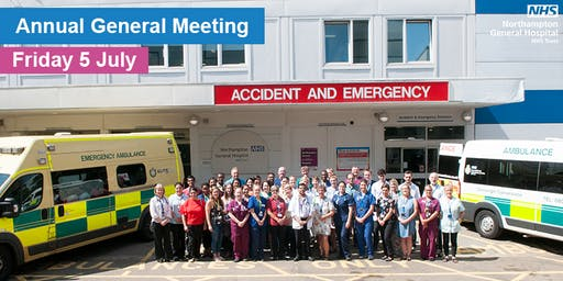 Northampton General Hospital Annual General Meeting and Careers Event
