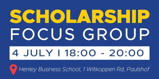 Scholarship Focus Group