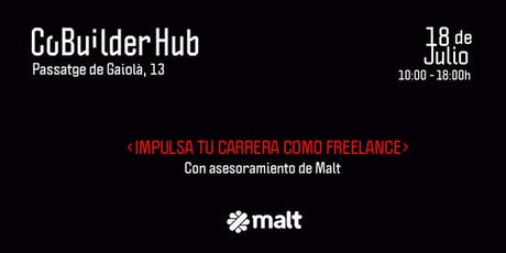 Impulsa tu carrera como freelance con Malt  tickets