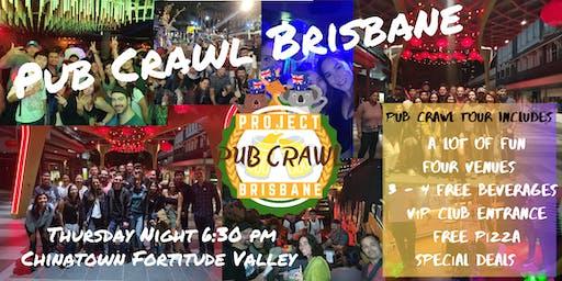 Project: Pub Crawl Brisbane