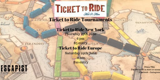 Ticket to Ride Europe Tournament