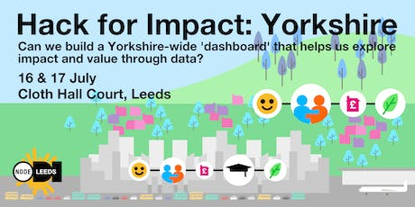 Hack for Impact: Yorkshire tickets