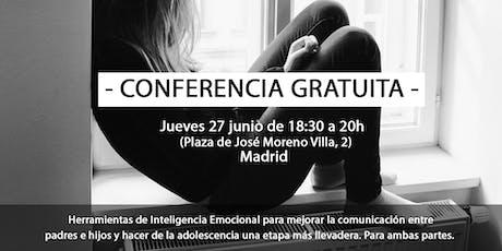 Conferencia de Inteligencia Emocional para padres y adolescentes - Madrid - entradas