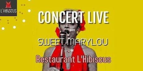 Concert Live Restaurant L'Hibiscus billets