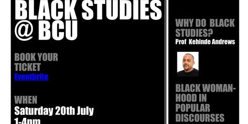 Black Studies @BCU New Courses launch
