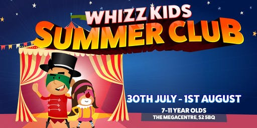 Whizz Kids Summer Club 2019