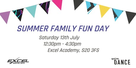 Summer Family Fun Day - Dance and Martial Arts FREE Taster Sessions tickets