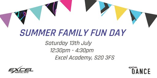 Summer Family Fun Day - Dance and Martial Arts FREE Taster Sessions
