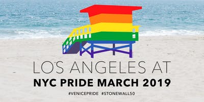 March with Venice Pride in the 2019 NYC Pride March!