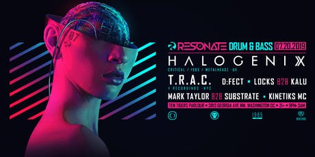 Resonate presents: Halogenix, TRAC, & D:Fect tickets