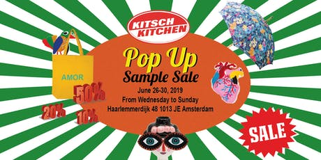 Kitsch Kitchen Pop-Up Shop / Sample Sale / Outlet tickets