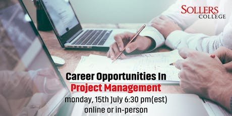 Career Opportunities in Project Management tickets