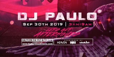 DJ Paulo tickets