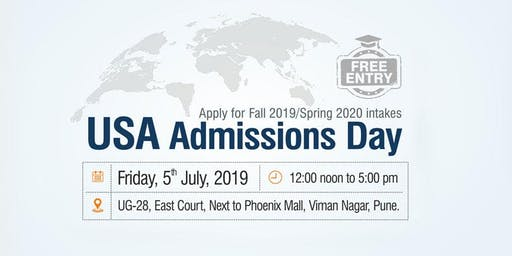 USA Admissions Day at Krishna Consultants, Pune - 5th July 2019