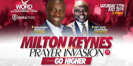 MILTON KEYNES PRAYER INVASION 2019 tickets