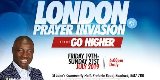 LONDON PRAYER INVASION 2019
