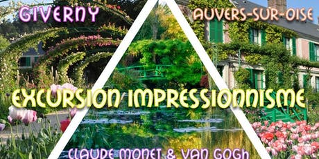 Giverny & Auvers : Excursion Impressionnisme | Monet & Van Gogh billets