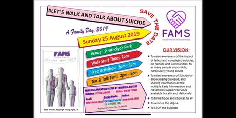Lets Walk and Talk About Suicide 2019 tickets