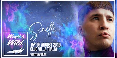 Woest & Wild X Snelle 15.08.2019 tickets