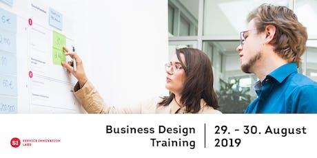 Business Design Training Tickets