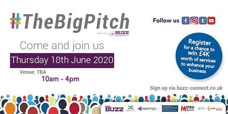 BuzzConnect #TheBigPitch 2020 tickets