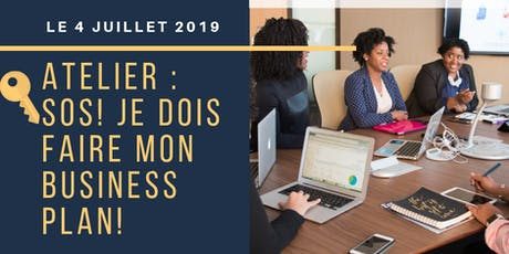 Atelier SOS BUSINESS PLAN billets