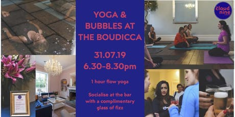 Yoga & Bubbles at The Boudicca tickets