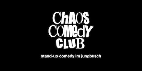 CHAOS COMEDY CLUB Mannheim – Vol. 10 tickets