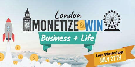 Monetize And Win tickets