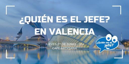 Presentación de ¿Quién es el Jefe? La marca de los consumidores en Valencia